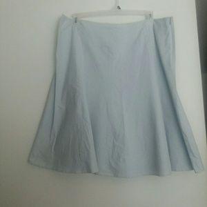 A-line Jones New York skirt